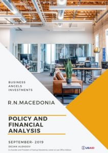 investments business angels North Macedonia research